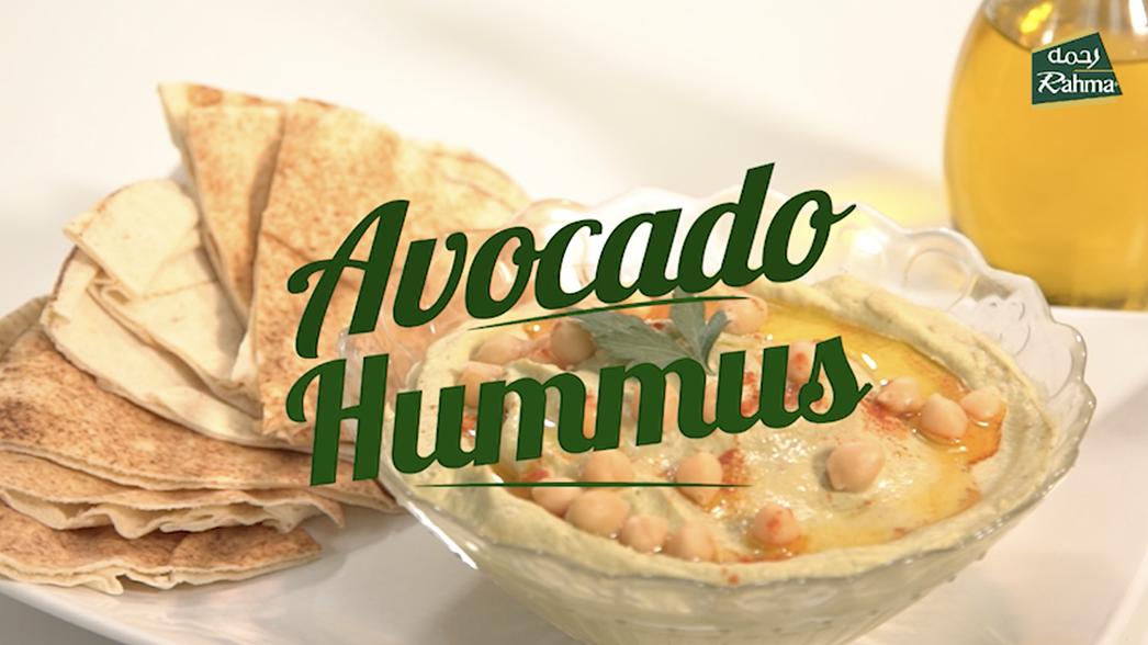 Avocado Hummus - Rahma