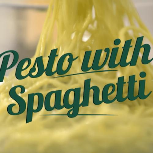 Pesto with Spaghetti - Rahma